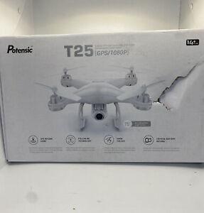 Potensic T25 GPS Drone FPV RC Quadcopter 1080p HD Camera WiFi Follow Me