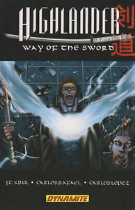 Highlander: Way of the Sword TPB #1 VF; Dynamite | save on shipping - details in