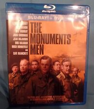 THE MONUMENTS MEN, BLU RAY DISC., SINGLE DISC w/case and artwork