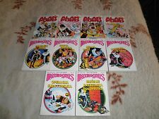 ALAN FORD + MAXMAGNUS - MIXED LOT OF 10 COMICS - STRIP AGENT - CROATIA - COMIC