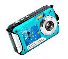 Underwater Camera FHD 2.7K 48 MP Waterproof Digital Camera Selfie Dual Screen...