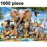 UK 1000 Piece Animal World Jigsaw Puzzles Adult Kids Educational Puzzle Toy Gift