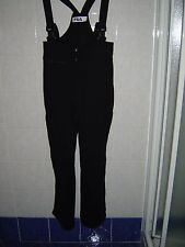 Salopette Pantaloni Da Sci Snow Fila Donna Tg. 46 Colore nero usato ottime cond.