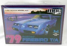 1:25 Scale '79 Pontiac Firebird Trans-Am 3 in 1 Plastic Model Kit - MPC #820/12