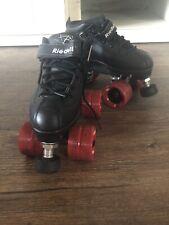 Black Size 4 Girls Roller Skates & Protective Gear