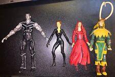 Marvel Legends Lot Colossus Jean Grey Phoenix Loki 2000 2006 2007 X-Men