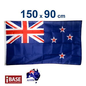 New Zealand NZ Flag National Kiwi Moari Heavy Duty Outdoor 150x90cm 5x3ft