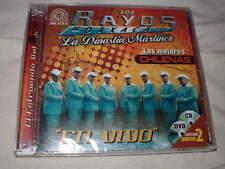 LOS RAYOS DE OAXACA Las Mejores Chilenas En Vivo CD+DVD NEW Mexico Latin Sealed
