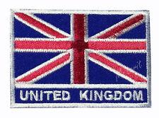 #88 - UNITED KINGDOM Flag Iron On Patch Aufbügler Applique Ecusson Wappe Fahne