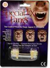 SPECIAL FX Zanne Custom Fit Retrattile Film Qualità denti da vampiro Halloween