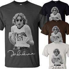 John Lennon - New York City - tshirt - S-5XL