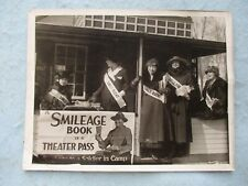 WWI US Home Front Herald Photo Smileage Cottage Boston Common Volunteers 1917