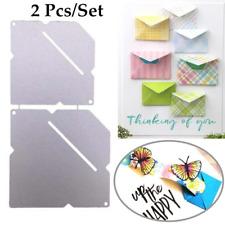 2 Pcs/set Envelope Metal Cutting Dies for DIY Scrapbooking Embossing Paper Cards