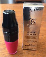 BNIB Lancome Lancôme Matte Shaker Liquid Lipstick shade 378 Powder Pink