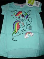 Hasbro My Little Pony Ragazze Maglietta Manica Corta Turchese