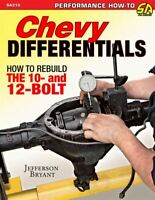 Chevy Differentials How To Rebuild 10 & 12 Bolt Chevrolet Codes Rearends Book