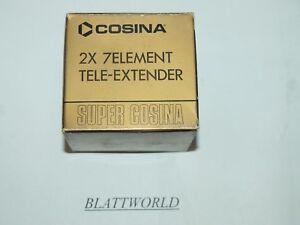 NEW 7 ELEMENT 2X AUTOMATIC TELECONVERTER LENS for FUJICA X SERIES SLR CAMERAS