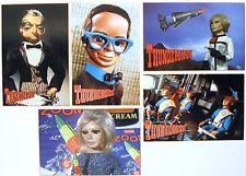 Gerry Anderson Thunderbirds Series 2 Postcards-Set of 5