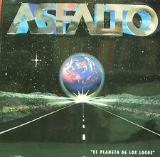 ASFALTO-EL PLANETA DE LOS LOCOS LP VINILO 1994 + INSERT SPAIN