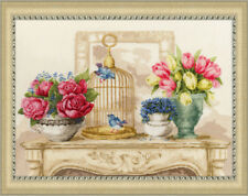 "Counted Cross Stitch Kit GOLDEN FLEECE - ""Spring charm"""
