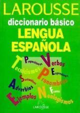 Diccionario Basico de la Lengua Espanola by Larousse Staff (1999, Paperback,...