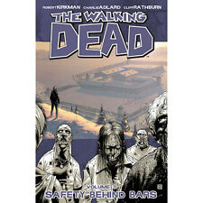 The Walking Dead Safety Behind Bars Vol 3 Comic Book Graphic Novel Kirkman