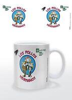 BREAKING BAD - LOS POLLOS HERMANOS MUG NEW GIFT BOXED 100 % OFFICIAL MERCHANDISE