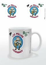 BREAKING BAD - LOS POLLOS HERMANOS MUG NEW GIFT BOXED 100 % OFFICIAL MERCHANDISE