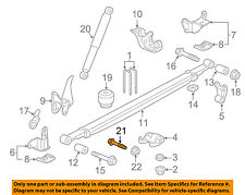 GM OEM Rear Suspension-Shock Bolt 11611959