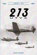 213 UTVA Vihor Yugoslavian two-seat advanced trainer.