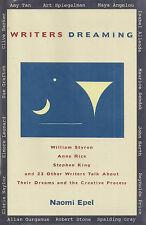 """Writers Dreaming"" SIGNED William STYRON Robert STONE Maya ANGELOU Anne RICE + 4"
