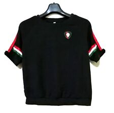 Black Top With Red Green And White Trim And Emblem
