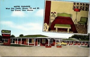 Linen Postcard Motel Paradise in Las Cruces, New Mexico~136859