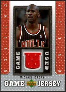 MICHAEL JORDAN BULLS HOF GAME USED WORN 23 JERSEY PATCH SP 2007-08 UPPER DECK UD