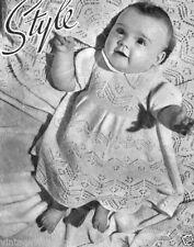 Baby Girls' Dress Crocheting & Knitting Patterns