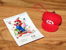 Super Mario Cap Charm Display Cleaner Nintendo 2010 Rare Promo Collectictible