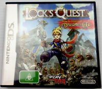 DS Lock's Quest Nintendo DS Video Game With Manual for DS