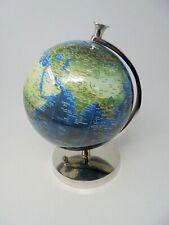 "26"" Blue & Green World Globe Rotating Atlas, Office Desk Ornament Home  (BTOP)"