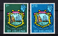 C588   ST HELENA Sc#195-196 LONGWOOD AND ST. PAUL'S CANCELS