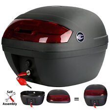 Coocase S30B Motorcycle Self Assembly Motobike Top Box Case Black 30 Litre