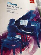 ABRSM Grade 4 Piano Exam Pieces 2017 & 2018 Book and CD