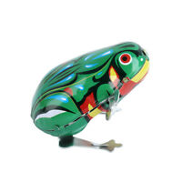 Classic Vintage Jumping Frog Clockwork Wind Up Toys for Kids Children Toy Gift
