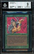 Alpha Berserk BGS Quad 9+  MTG Magic the Gathering 1993 NM