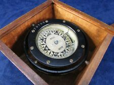 New ListingRitchie Boston Nautical Compass in Wood Case. #6731