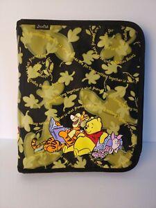 VTG Stuart Hall Winnie The Pooh & Friends Heavy Duty 3 Ring Zipper Binder Folder