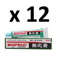 ( Pack of 12 ) MUHI Mopiko Ointment ~ 20g ~ Expired in 2023 !!!
