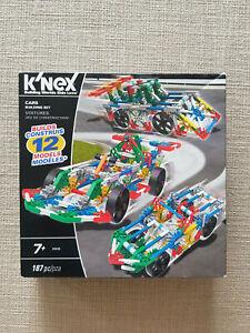 *** K'NEX KNEX Cars Building Set 12 Models ***