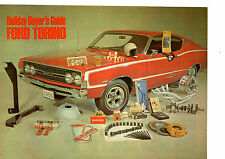 1969 FORD TORINO GT 427 / RECOMMENDED STREET PACKAGE / ORIG 2-PG ARTICLE/AD