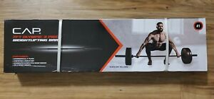 Cap 7 Ft Olympic Bar Barbell - 300 Pound Capacity - 2 inch Weight Plates - NEW!