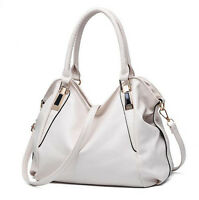 New Women Lady PU Leather Handbag Large Purses Satchel Tote Single Shoulder Bag